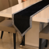 chemin de table design noir