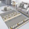 tapis géométrique abstrait décoration intérieur